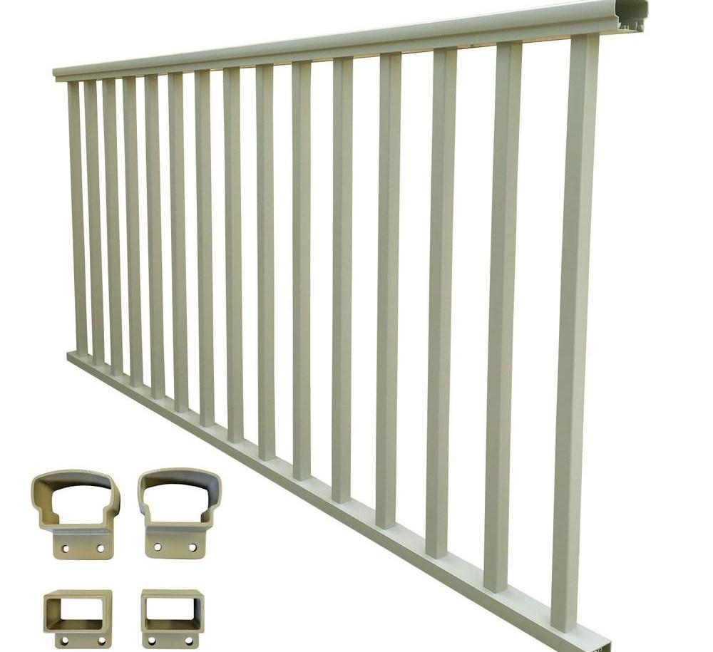 Ez Handrail The Home Depot | Home Depot Exterior Handrail | Wood | Wrought Iron | Deck | House | Interior