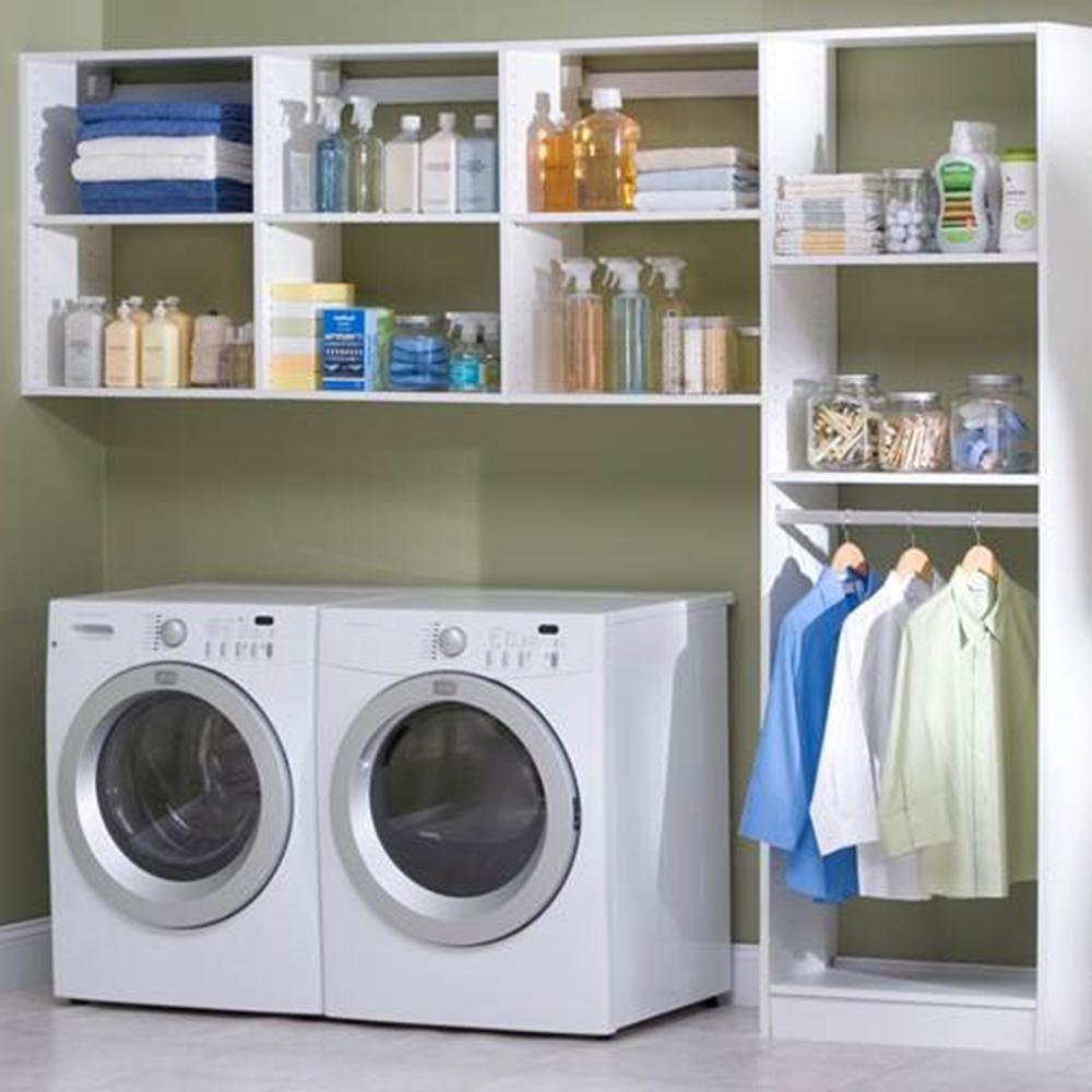 The Home Depot Installed Laundry Room Organization System ... on Laundry Room Organization Ideas  id=65035