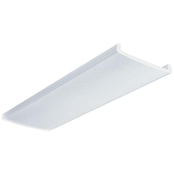 Lithonia Lighting 1 1 2 ft  x 4 ft  Wraparound Clear Prismatic Lens     Lithonia Lighting 1 1 2 ft  x 4 ft  Wraparound Clear Prismatic