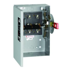 GE 30 Amp 240Volt NonFused Indoor GeneralDuty DoubleThrow Safety SwitchTC35321  The Home Depot