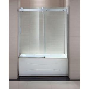 Schon Judy 60 In X 59 In Semi Framed Sliding Trackless