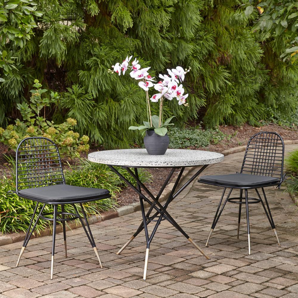 kinger home 3 piece patio bistro table