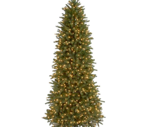 Jersey Fraser Fir Artificial Christmas Pencil Slim Tree With
