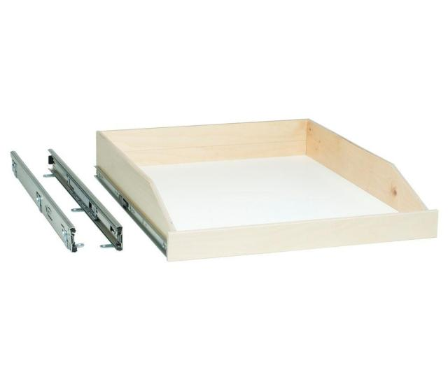 Made To Fit Slide Out Shelf 6 In To 36 In Wide Full Extension Choice Of Wood Front