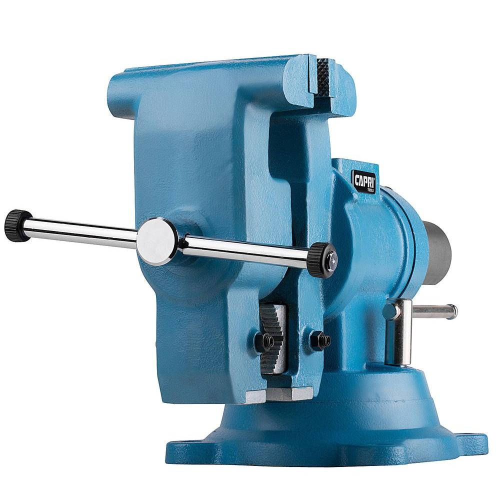 Capri Tools 6 In Rotating Base And Head Bench Vise