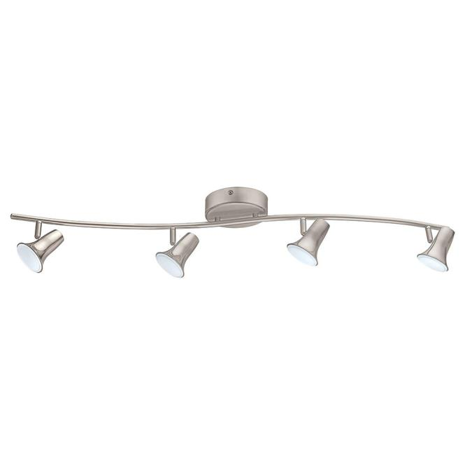 Jumilla Led 4 Light Matte Nickel Track Lighting Kit
