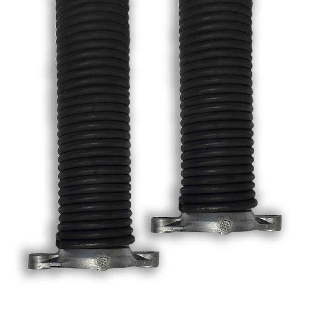 Torsion Springs in Red Left Right Wound Pair for Sectional ... on New Garage Door Springs  id=15583