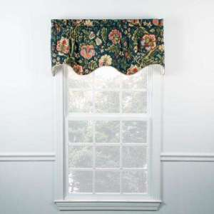 Blue   Window Scarves   Valances   Window Treatments   The Home Depot Regency