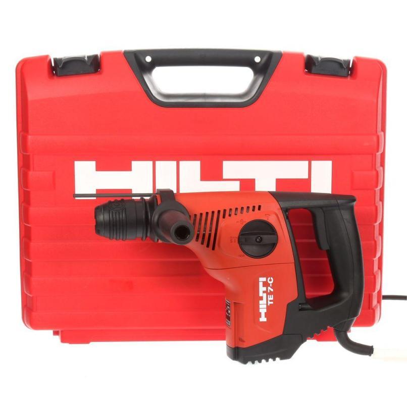 Hilti Te 7 C 120 Volt Sds Plus Hammer Drill Kit