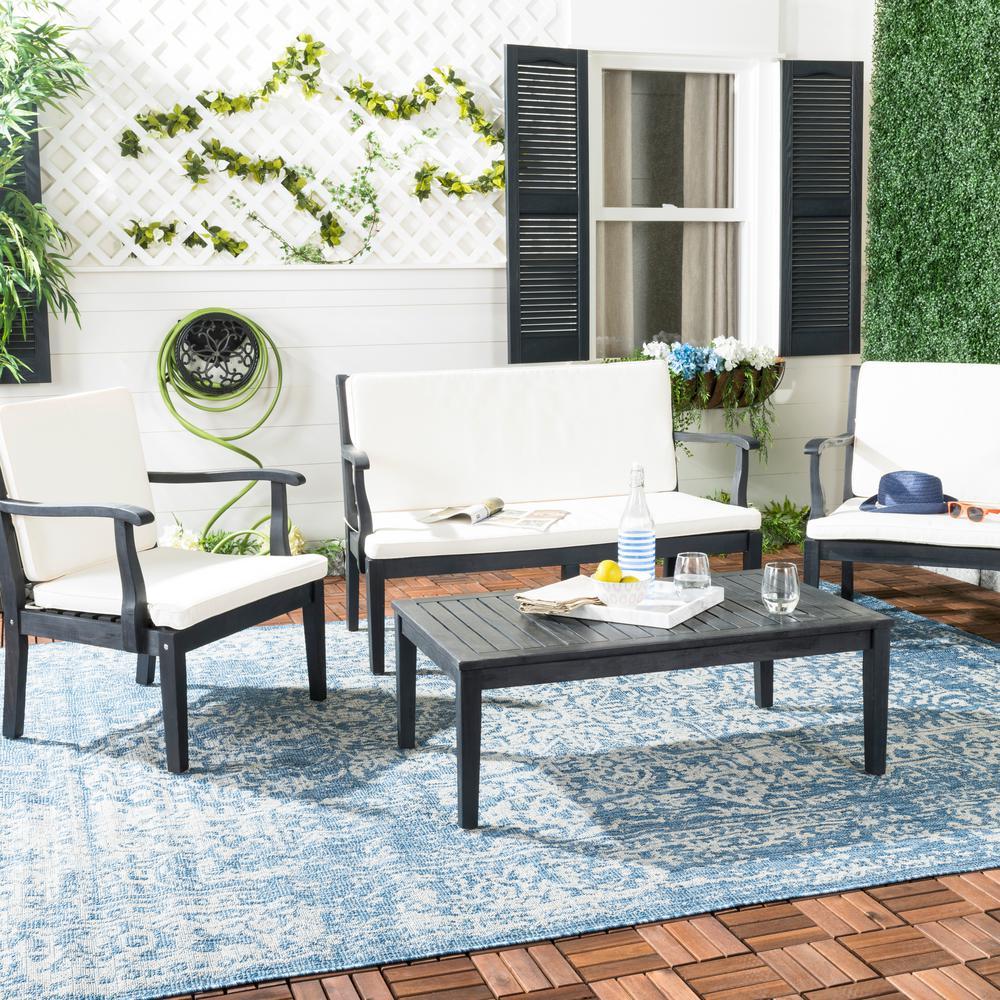 Safavieh - Patio Conversation Sets - Outdoor Lounge ... on Safavieh Raldin id=45036