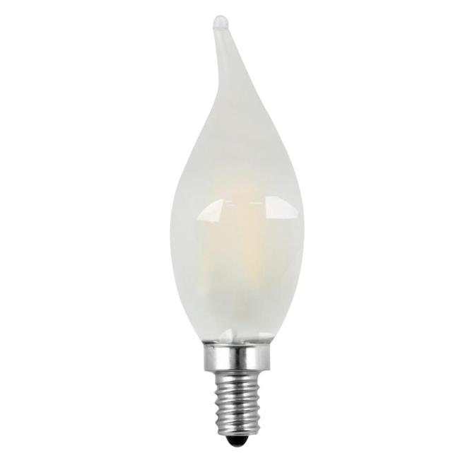 Feit Electric 60w Equivalent Soft White 2700k Ca10 Dimmable Filament Led Candelabra Base Frosted