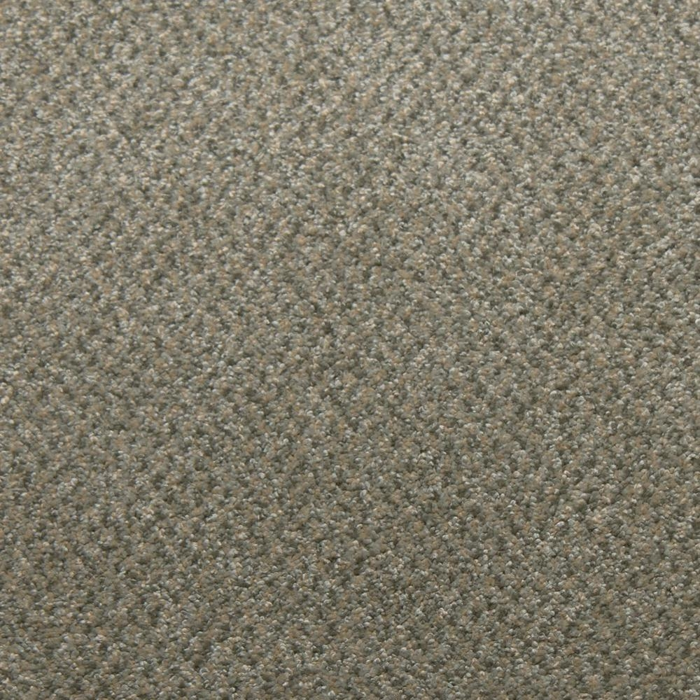 Home Decorators Collection Sweet Dreams Ii Color Jasper Saxony   Saxony Carpet On Stairs   Laminate Riser   Brown   Carpeted   Tread   Thick