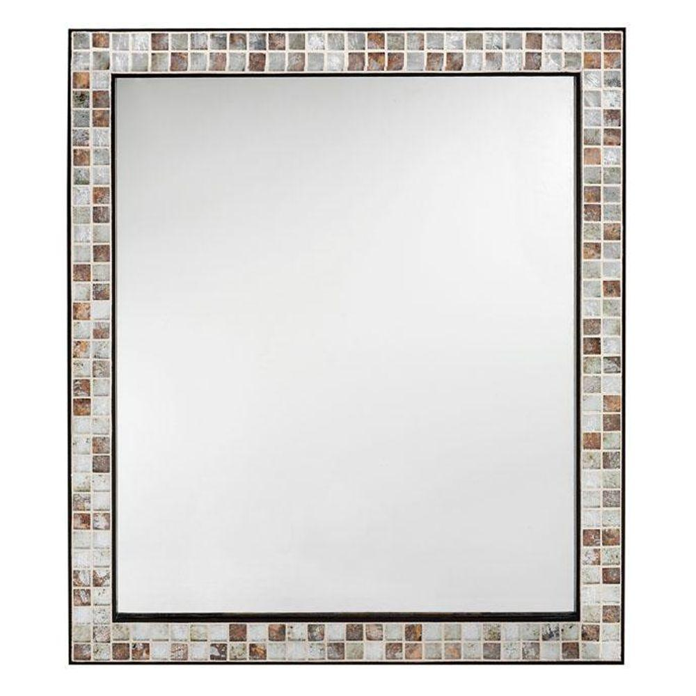 home decorators collection briscoe 28 in. w x 33 in. l wall mirror