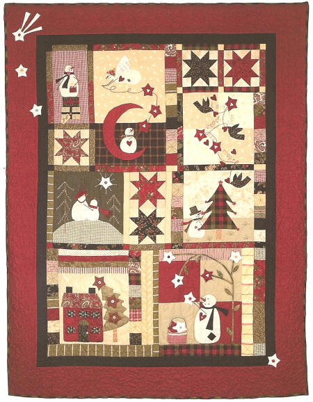 Catch A Christmas Star Pattern By Bunny Hill Designs Anne Sutton