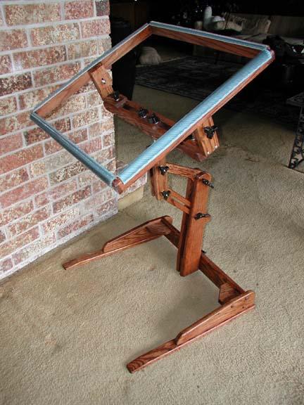 Extra Large Rug Hooking Floor Frame
