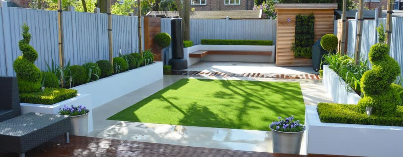How to make small back gardens super stylish | homify on Back Garden Ideas id=30726