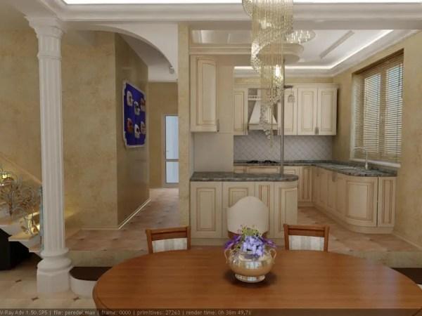 Частный дом г. невинномысск. кухня кухня в классическом ...