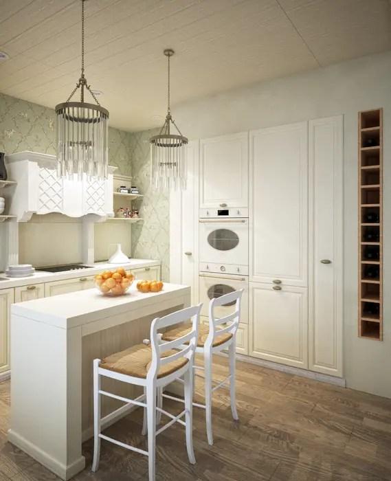 Кухня/столовая в частном доме кухня в классическом стиле ...