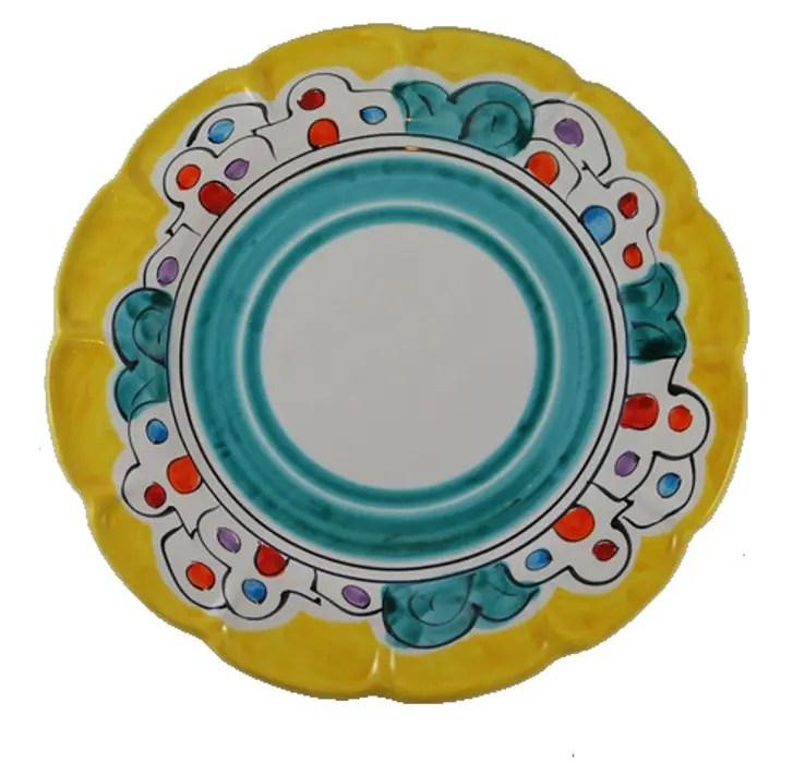 Richiede precisa collocazione e pianificazione del decoro su tutto il piatto. Piatti Da Portata Ceramiche Di Vietri Casaaccessori Decorazioni Ceramica Homify