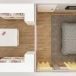 Schlafzimmer Mit Begehbarem Kleiderschrank Modern Von Dorr Planen Einrichten Modern Holz Holznachbildung Homify