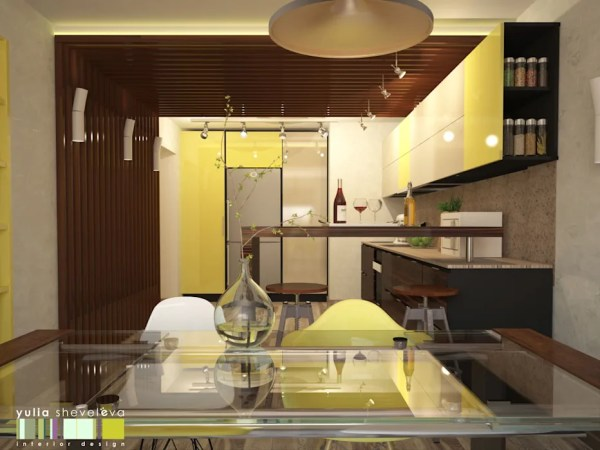 Игра по правилам кухня в стиле минимализм от мастерская ...