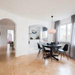 Essbereich In Schwarz Weiss Skandinavische Esszimmer Von Munchner Home Staging Agentur Geschka Skandinavisch Homify