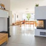 Offener Kamin Als Raumteiler Zum Wohnzimmer Moderne Wohnzimmer Von Kitzlingerhaus Gmbh Co Kg Modern Homify