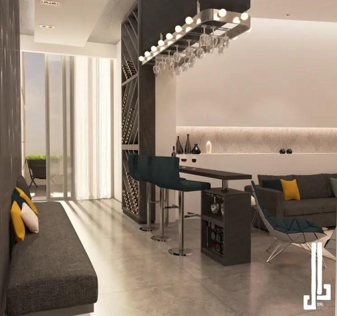 Minimalist Design Apartment Corridor Hallway By Dal