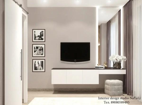 Дизайн интерьера спальня в стиле модерн от студия дизайна ...