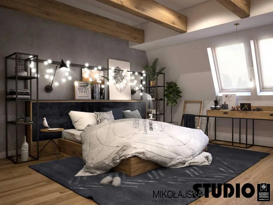 Del nord america 7 fatti e cifre del mercato mobili per camere da letto. Mikolajskastudio Camera Da Letto In Stile Industriale Homify