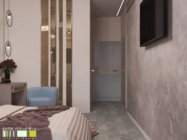 Яркий и стильный спальня в эклектичном стиле от мастерская