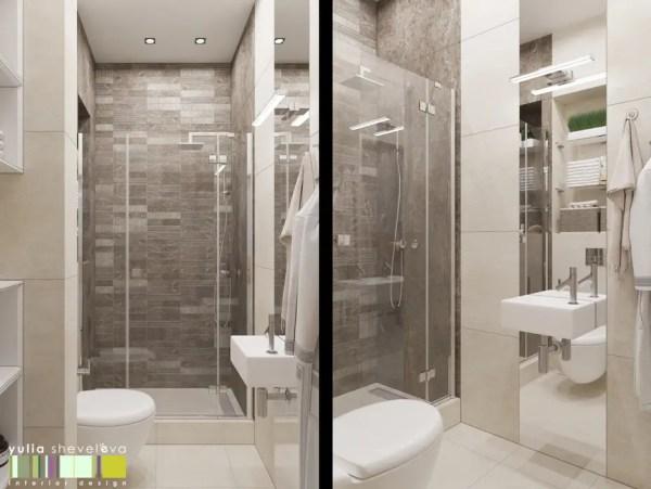 Яркий и стильный ванная комната в эклектичном стиле от