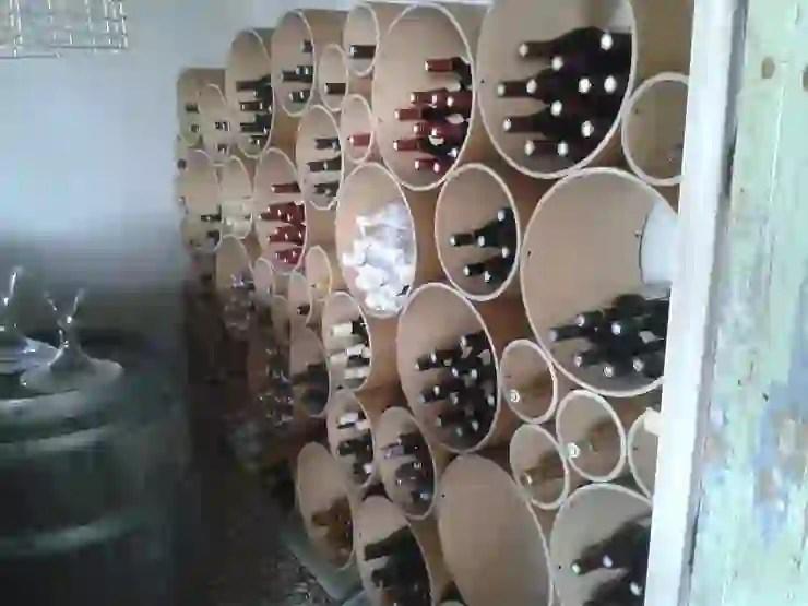 ranger vos bouteilles de vin