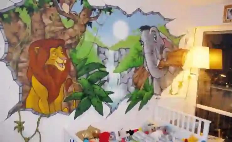 chambre d enfant theme jungle homify