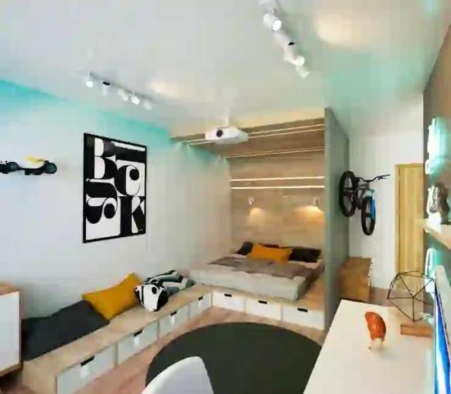 Kamar Tidur oleh IK-architects