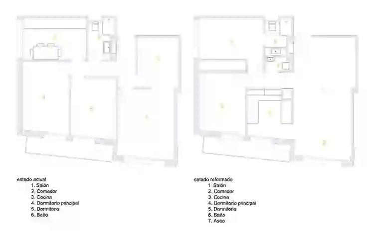 15 شقة بمساحة 70 م² تعلمك استغلال المساحات