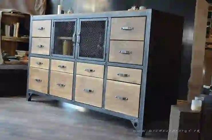 meubles bois acier sur mesure homify