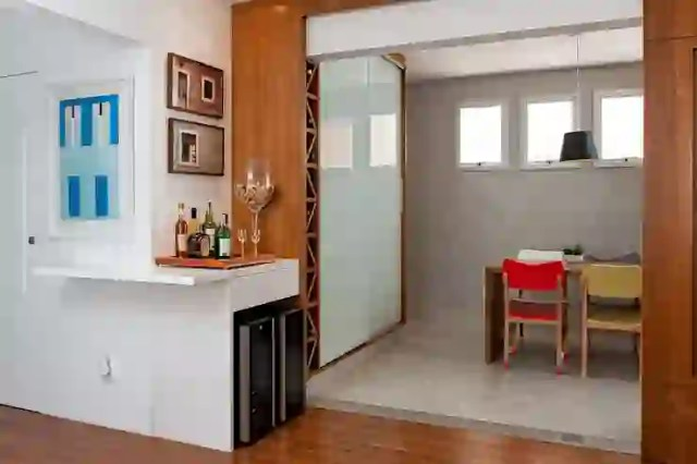 Ruang Keluarga oleh Ambienta Arquitetura