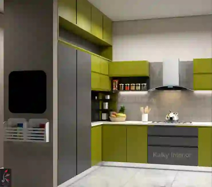 How Do I Design Kitchen Corner Cabinets To Optimise Space Homify