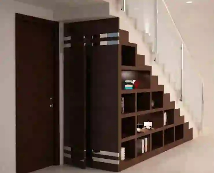 19 Brilliant Ideas To Decorate The Space Below Stairs Homify   Interior Design Under Staircase   Ideas   Cupboard   Indoor Garden   Spiral Staircase   Shelves