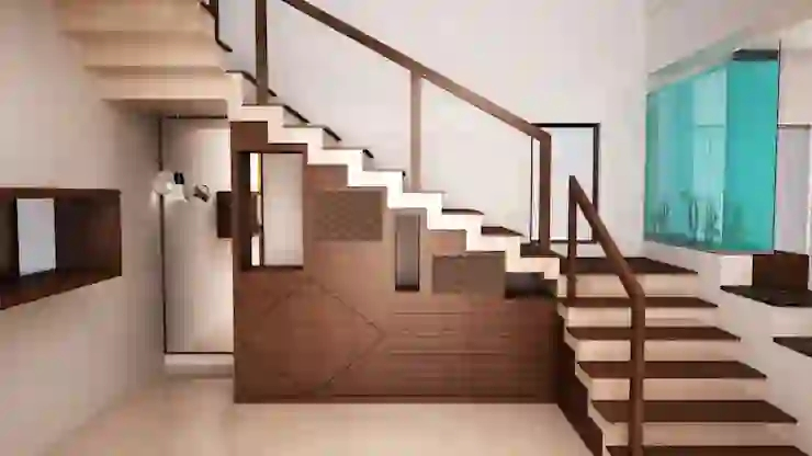Types Of Staircase Designs For Indian Homes Homify Homify   Zig Zag Staircase Design   Stringer   Dual Staircase   Chain Staircase   Sawtooth   Steel