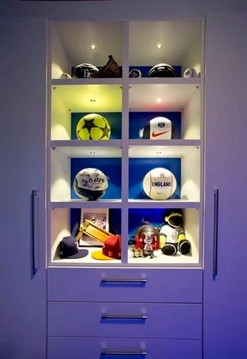 FOOTBALL BEDROOM FOR 360 INTERIOR DESIGN By COOPER BESPOKE JOINERY LTD Homify
