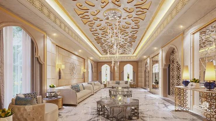 Salas De Estar Clássicas Por Spazio Interior Decoration Llc