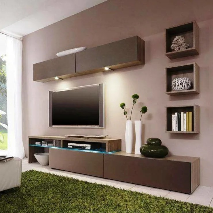 9 modern TV units in your living room on Living Room Wall Units id=11935