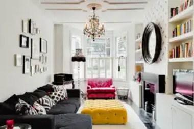 Salones de estilo ecléctico de Honeybee Interiors