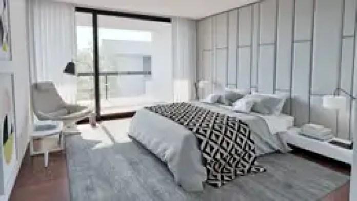 Dormitorios de estilo moderno de MyWay design