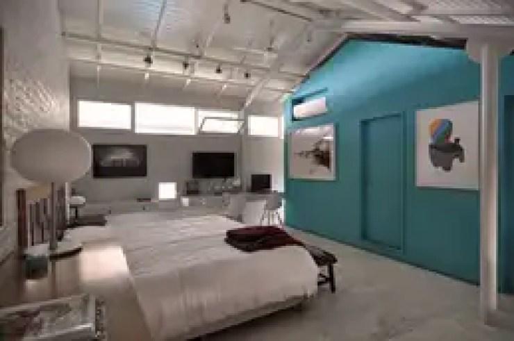 Dormitorios de estilo moderno de Matealbino arquitectura