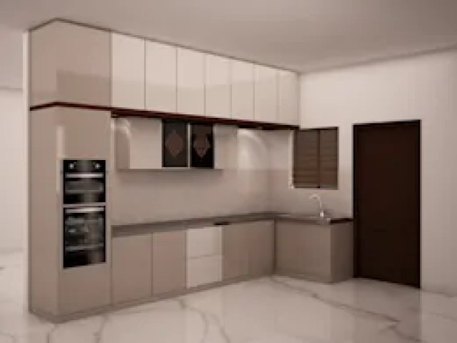 Kitchen with Loft and Tall unit: modern Kitchen by NVT Quality Build solution