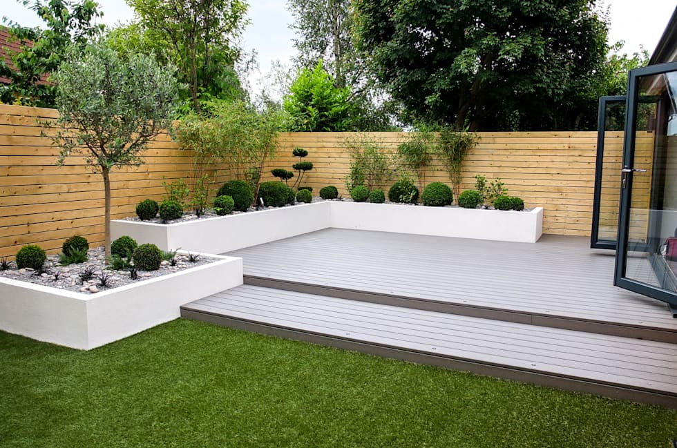 Interior Design Ideas, Redecorating & Remodeling Photos ... on Low Maintenance Backyard Ideas  id=77655