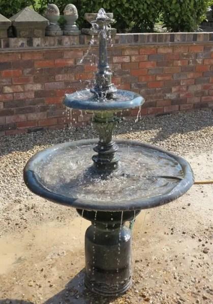 english garden fountains water features 10 quirky English garden ideas